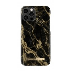 Ideal Of Sweden Stylish iPhone 12 Pro Case - Golden Smoke Marble
