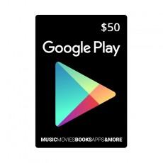 Google Play Digital Gift Card 50$ - OneCard