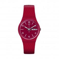 Swatch Lazered Quartz Analog 34mm Unisex Rubber Watch (GR710)