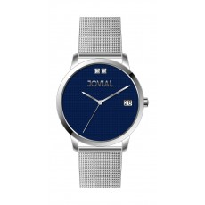 Jovial GS2011-04 Casual Analog Gents Watch - Metal Strap - Silver