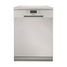 Hisense H14DS 6 Program Free-standing Dishwasher - Silver
