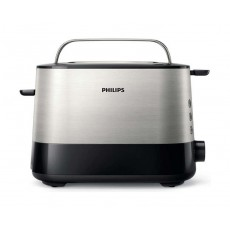 Philips Viva Collection 2 Slots Toaster (HD2637/91) - Black