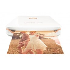 HP Sprocket Plus Portable Photo Printer (2FR85A) - White