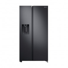 Samsung 23 CFT. Side by Side Refrigerator - Black (RS64R5331B4/SG)