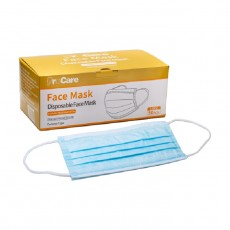 Procare 3Ply Single Use Face Mask 50pcs