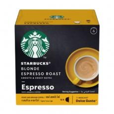 Dolce Gusto Starbucks Blonde Espresso Roast - 12 Capsules