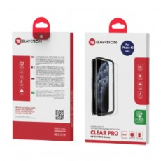 Baykron iPhone 12 Mini Antibacterial 2D Tempered Glass