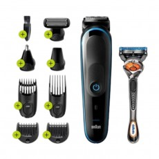 Braun 7 in 1 Trimmer (MGK5280) - Black | Blue