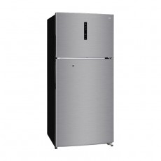 Haier 27 CFT Top Mount Refrigerator (HRF-780FPI DP) - Silver
