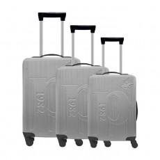 U.S Polo Luggage Set of 3 75.5X48X30 CM - Grey