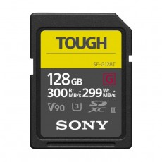 Sony Memory Card 128GB SF-G Tough Series UHS-II SDXC