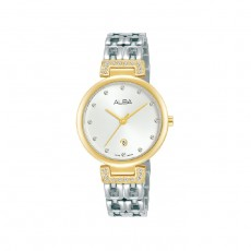Alba 30mm Analog Ladies Metal Fashion Watch (AH7U90X1)