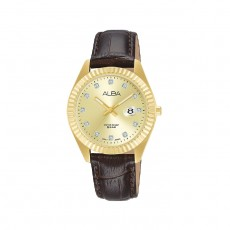Alba 32mm Analog Ladies Leather Casual Watch - AH7T56X1