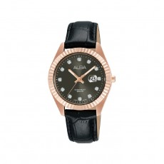 Alba 32mm Analog Ladies Leather Casual Watch - AH7T54X1