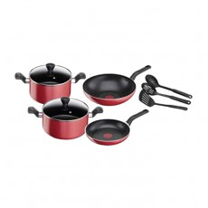 Buy Tefal Super Cook 9 Piece Cookware Set online at the best price in Kuwait. Shop Online and get new cooking set type with free shipping from Xcite Kuwait.