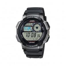 Casio Digital Gents Watch 44mm GRO with Resin Strap (AE-1000W-1BVDF) - Black