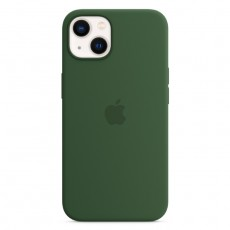 Apple iPhone 13 MagSafe Silicone Case Clover green buy in xcite kuwait