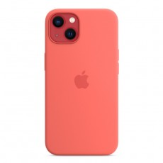 Apple iPhone 13  Mini MagSafe Silicone Case - Pink Pomelo