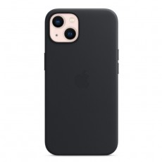 Apple iPhone 13 MagSafe Leather Case black Midnight buy in xcite kuwait