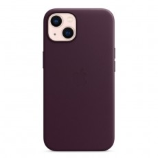 Apple iPhone 13 MagSafe Leather Case - Dark Cherry