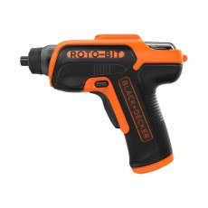 Black and Decker 3.6V Cordless Screwdriver (CS36BSCROTO) - Black/Orange