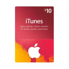 Apple iTunes Gift Card $10 (U.S. Account)