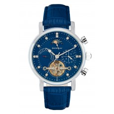 Jean Bellecour Chronograph Gents Leather Watch - (JBS19MW006S)