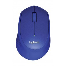 Logitech M330 Silent Plus Wireless Mouse (910-004910) - Blue