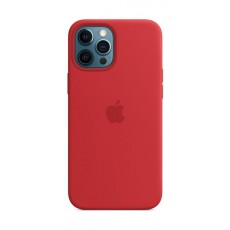 Apple iPhone 12 Pro Max MagSafe Silicone Case - Red