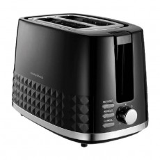 Morphy Richards Dimensions 2 Slice Toaster 850W (220021) - Black