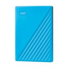 Western Digital My Passport 2TB Portable HDD - Blue