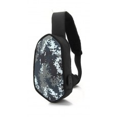 EQ White Camouflage Backpack 4