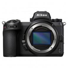 Nikon Z 6II Mirrorless Digital Camera Body Only hybrid still and video front facing