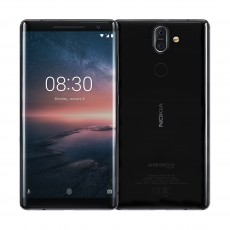 Nokia 8 Sirocco 128 Phone - Black