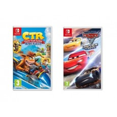 Crash Team Racing Nitro-Fueled + Cars 3 Drive to Win: Nintendo Switch Game