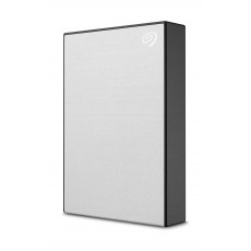 Seagate One Touch 4TB USB 3.2 Gen 1 External Hard Drive - Silver