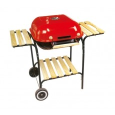 Orange 22-inches Square Grill - (BS-BBQG-28018A)