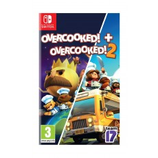 Overcooked Double Pack - Nintendo Switch Game