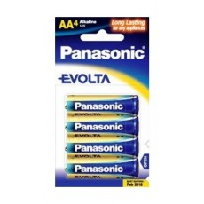 Panasonic Evolta LR6EG/4B AA Alkaline Battery - 4 PCS