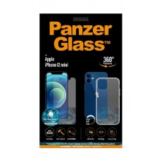 PanzerGlass iPhone 12 Mini Exclusive Bundle Standard Glass with Case - Clear