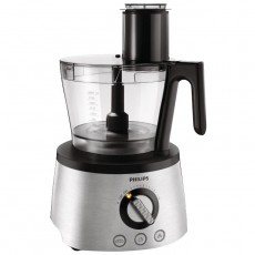 Philips 3 in 1 1300W Avance collection Food Processor (HR7778/00/01) – Black / Silver
