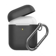 Promate Silicon Cover Case for Airpods - Black