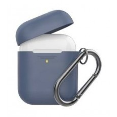 Promate Silicon Cover Case for Airpods - Navy Blue