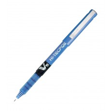 Pilot V5 Liquid Ink Rollerball 0.5 mm Tip (pack of 12) - Blue