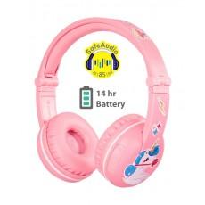 BuddyPhones PLAY Wireless Headphone - Pink