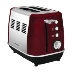 Morphy Richards Evoke 2 Slice Toaster 850W – Red (224408)