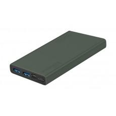 Promate Bolt-10 10000 mAh Smart Charging Power Bank - Green