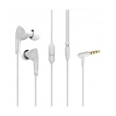 Promate Medley-1  Universal Sporty In-Ear Stereo Earphones - White