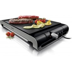 Philips 2300 Watts Table Grill with Adjustable Thermostat (HD4419/20) - Black