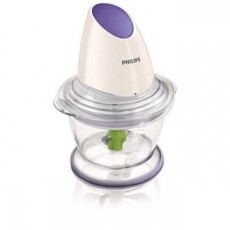 Philips Viva Collection Chopper 400W with Plastic Bowl HR1397/01/11